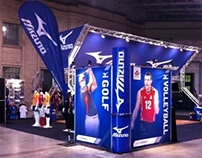 Mizuno Product Booth