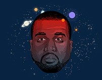 Kanye West the spaceman
