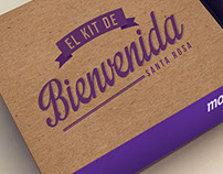 Kit de Bienvenida - Morada