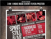 Indie Rock Event Flyer / Poster