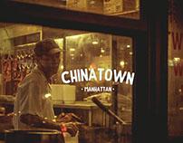 Chinatown in Manhattan