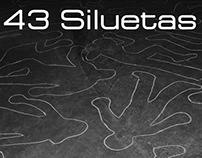 43 Siluetas/43 Silhouettes (Intervención/Intervention)