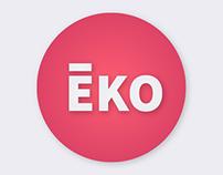 EKO // MUSIC APPLICATION // WIP