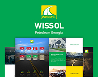 Wissol Petroleum Georgia Web page design
