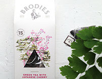Brodies tea packaging - final products