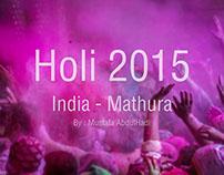 Holi - India 2015