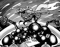 Animatrix Art + Print for Bottleneck Gallery