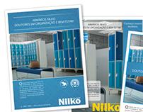 Folder Publicitário - Nilko Armários