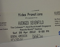 Avenged Sevenfold Concert in Singapore