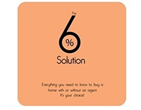 """Book cover - """"The 6% solution"""" Sissy Lappin"""
