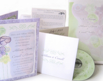 Hellebores Wedding Stationery