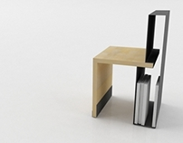 BIG.FOLDER chair by studio PARCHITECTS
