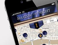 Shadow of Night mobile web app