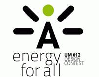 """Manifesti """"Energy for All"""""""
