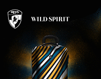 Luggage Design and Magazine Ad for Heys International