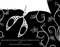 Arts & Crafts style title page - Martha Stewart