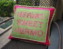 Needlepoint Pillow Project