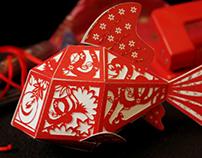 3D Fish Hong Bao