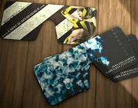 Lady Gaga Glasses Card