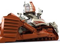 210 Ton Dozer Onsite Assembly