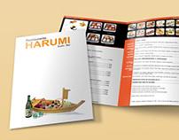 Harumi Sushi Bar Menu