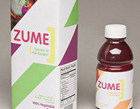 Zume Juice Packaging