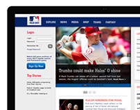 MLB Re-design