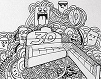 Mentos 3D gum