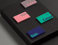 Visual & Brand Identity - Colour Rain, Denmark