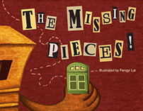 """Children Picture Book """"The Missing Pieces!"""""""