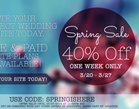 Tying the Knot Marketing Materials