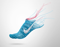 Nike Flyknit Lunar 1 Campaign