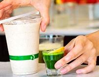 Sip Organic Juice Bar / branding