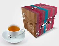 Cilantro Tea Packaging