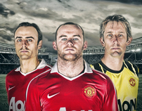 Man Utd Artwork