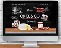 ORIEL & CO - UI Design