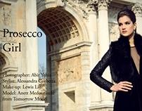 Prosecco Girl Editorial