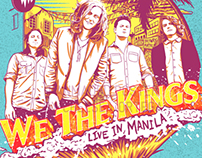 We the Kings Concert Poster