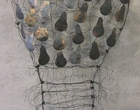 Shining - wire sculpture