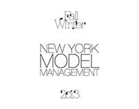New York Model Management F/W 2013 Show Package
