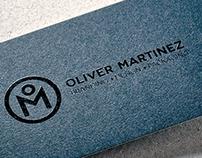 OLIVER MARTINEZ BRAND IDENTITY