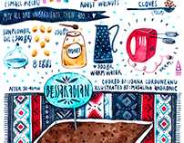 Moldavian Recipes - illustrated