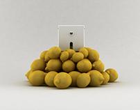 lemon cube squeezer