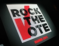 Rock the Vote Madrid 2012
