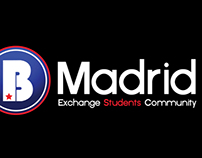 Be Madrid - Logo Design