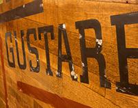 Starbucks Typographic Mural