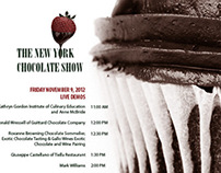 The New York Chocolate Show Poster Series