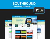 SouthBound - UI Responsive Template PSDs