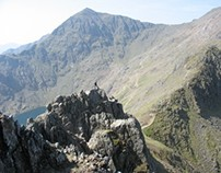 Caution: Crib Goch