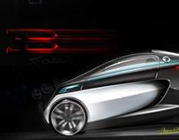 Mini Bugatti for the City